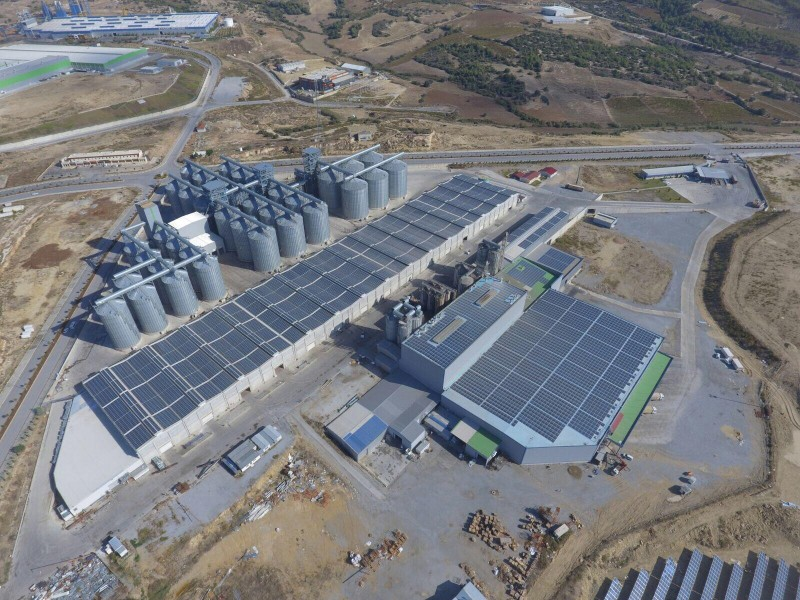 PV plant for Tiryaki Agro Company