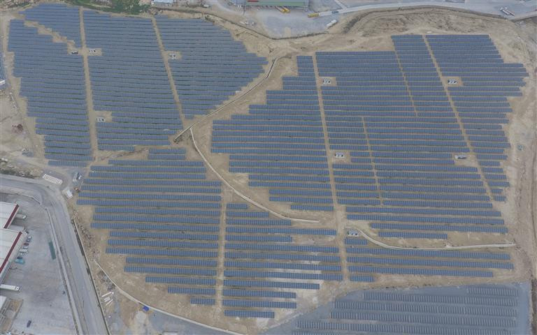 Ground-mounted solar park with 11.4. MWp in Mersin